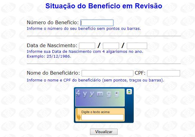 Consulta INSS pelo CPF