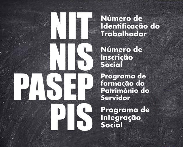 O que é NIS, PIS, PASEP e NIT