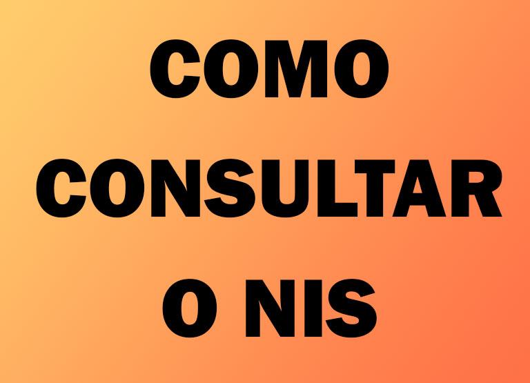 Como consultar o NIS